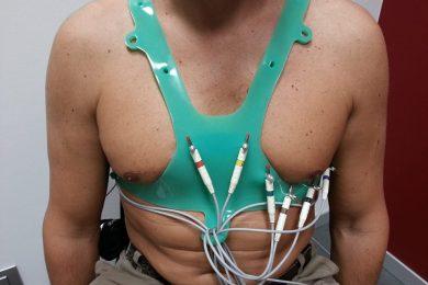 Corpetto per ECG a riposo