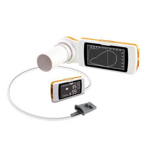 Spirometro e ossimetro professionale