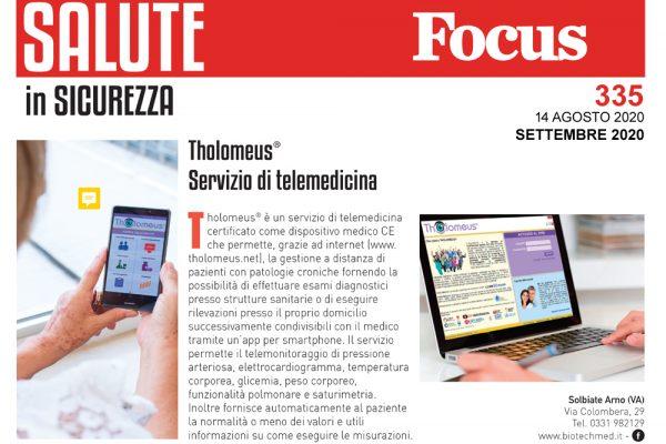 L'importanza della telemedicina, Focus punta i riflettori su Tholomeus®